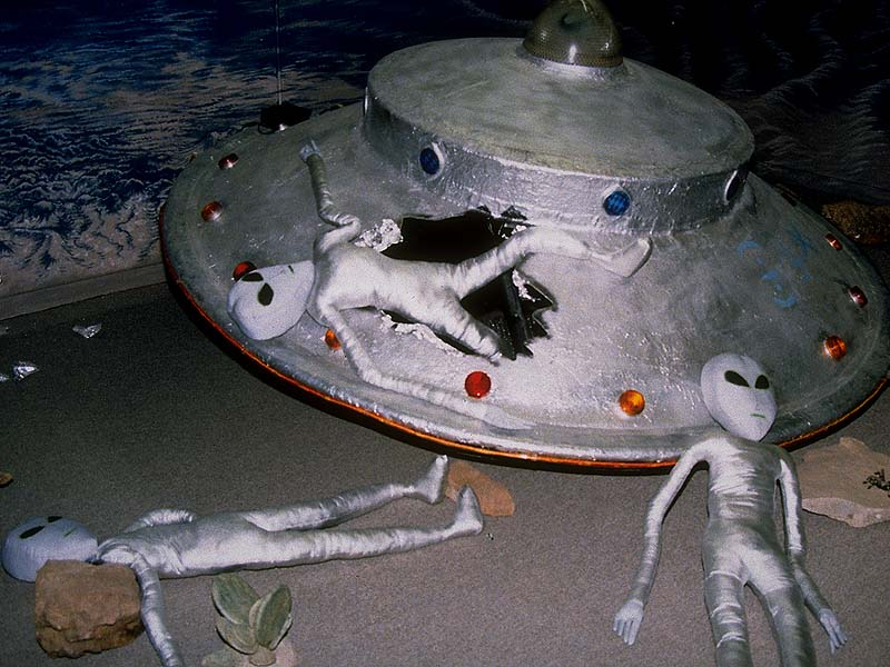 diy spacecraft alien ship - photo #29