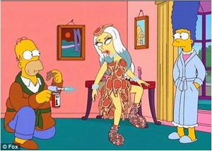 Word The simpsons lady gaga porn are not