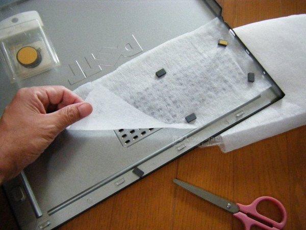 74a97fb6df PCのホコリ対策。CPUファンに自作フィルター装着!:作る人 (つくるん ...