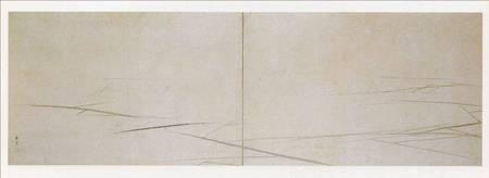 円山応挙「氷図屏風」。未曽有の天才の仕業。全世界はこの絵に驚け !!