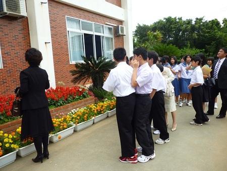 石垣中学校入学式(2):南の ...