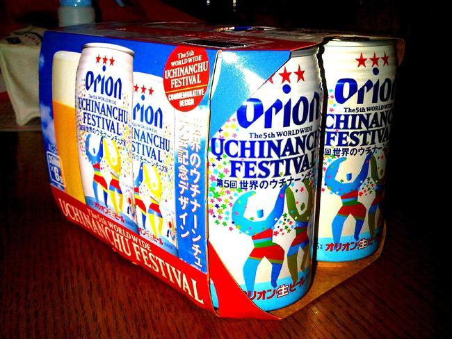 オリオンビール 世界のウチナーンチュ大会 デザイン缶